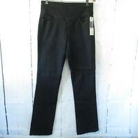 New Jag Pull On Jeans 8 Black Paley High Rise Boot Leg Denim