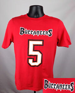 Tampa Bay Buccaneers Shirt Boy's XS (4 - 5) #5 Josh Freeman Red Shirt New ST118