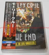 New MOTLEY CRUE THE END LAST LIVE IN LOS ANGELES Limited Edition 2 DVD CD Japan