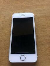 Apple iPhone 5s - 16GB - Argento con caricatore e cuffie