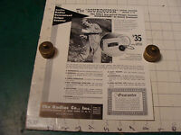 Vintage 1950's single sided ad sheet: THE SOURDOUGH GEIGER COUNTER C-18