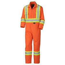 Pioneer Flame Resistant Cotton Safety Coverall Model 5555 Size 48 / XL