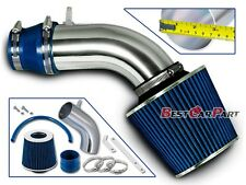 BCP BLUE For 2011-13 Veloster Accent Elantra 1.6L 1.8L Air Intake Kit +Filter