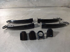 Seat Leon Cupra 2001-2006 Exterior Door Handle cover set black L041 VGC