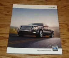 Original 2012 Ford F-150 Truck Deluxe Sales Brochure 12 SVT Raptor XL STX XLT