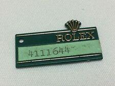 Rolex Green Vintage Hang Tag