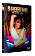 SABRINA SALERNO - On Stage 1991 - Rare Media Broadcasting DVD