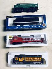 HO SCALE TRAIN LOT 3 New Locomotives 1 Used Working - Nice!