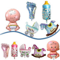 5x/Set Boy Girl Baby Shower Christening Foil Balloons Party Decoration KidsB JH