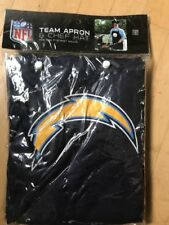 Official NFL Tailgate Apron and Chef Hat San Diego Chargers Navy Free Shipping
