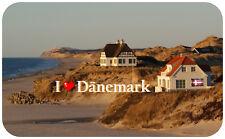 Kühlschrankmagnet,Magnetschild,Magnet,I Love Dänemark