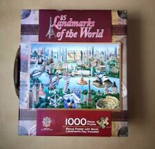 85 Landmarks Of The World Puzzle Jigsaw 1000 71267 Masterpieces In Suitcase R900