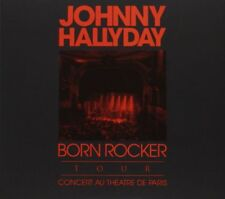 "CD + DVD ""Johnny Hallyday Born Rocker Tour ""NEUF SOUS BLISTER"
