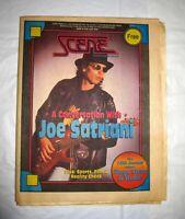 Cleveland Scene Magazine 1994 Joe Satriani Pink Floyd Ad Stage Studio Supplement