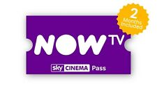 Now TV 2 months Movie Pass - watch as many films as you like