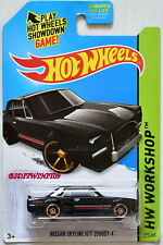 HOT WHEELS 2014 HW WORKSHOP - THEN & NOW NISSAN SKYLINE H/T 2000GT-X BLACK