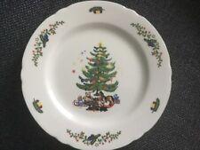 2 Weihnachtsteller Teller Frühstück Seltmann Weiden Porzellan Geschirr