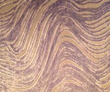 DESIGNERS GUILD Aurelia Swirls Waves Lavender Remnant New