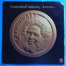 Cannonball Adderley-Lovers-1976 Fantasy Gtfld-Insert-VG++/VG++   JAZZ FUSION