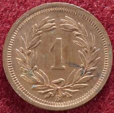 Switzerland 1 Rappen 1921 (C1802)