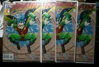 ROBIN #1 DC COMICS 1993 EMBOSSED FOIL COVER foil embossed