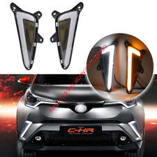 Fit Toyota CHR C-HR 2017-2018 DRL LED Side Signal Lights W/ Switchback Function