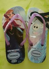 NEU@Gr 27-28@Havaianas@Frozen-Olaf@Zehentrenner Flip Flops Sandale Schlappe