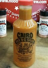 Cairo Bbq Famous Carolina Style Sauce 20oz Barbecue For Thinly Sliced Pork Roast