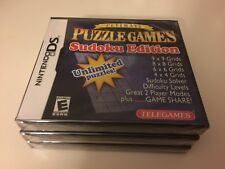 Ultimate Puzzle Games --Sudoku Edition (Nintendo DS, 2007) DS NEW