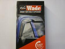 WADE Slim Window Visors Chrysler PT Cruiser Wind Deflectors 2001-2010 Smoke 4-PC