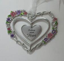 zzBb Follow your heart Blooming Lovely 3d Heart Ornament ganz