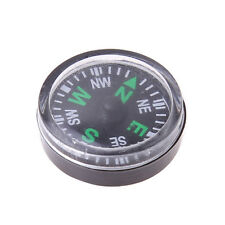 10 pcs 20mm Mini Compass for Paracord Bracelet Outdoor Camping Hiking Travel