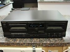 Technics Rs-Tr252 Dual Auto Reverse Player Recorder Hx-Pro Stereo Cassette Deck