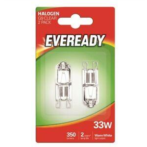 2 X G9 Oven Cooker Hood Appliance Bulb Lamp 33W Halogen Capsule  240V Branded