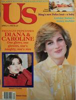 US Magazine April 1984 Pregnant Princesses Diana Carolina Wayne Gretzky Sting