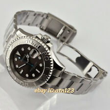 41mm Parnis Gray Dial sapphire glass Automatic Movement Mens Wristwatch