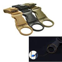 Tactical Molle Nylon Webbing Buckle Key Water Bottle Holder Hook Carabiner Clip