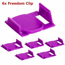 6 pcs Keurig Clever Clip 2.0  USE ANY K-CUP in Keurig 2.0 Coffee Maker FREEDOM !