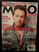 MOJO Bruce Springsteen magazine - January 2006 Pink Floyd - NO CD