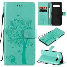 Butterfly Wallet Flip Leather Phone Case Cover For LG V60 K61 K51 K41s Stylo 6 5