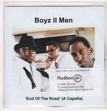 (EV496) Boyz II Men, End of the Road - 2008 DJ CD