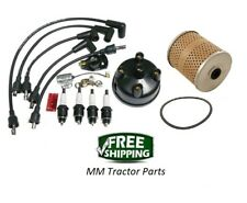 Ignition Tune up Kit & Oil Filter - Ford 8N Tractor with Side Mount Distributor