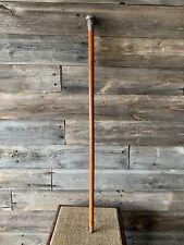 Vintage Sterling Silver Swagger Knob Walking Stick Cane