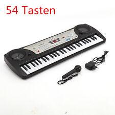 54 Tasten Kinder Keyboard Piano Klavier mit Mikrofon Netzteil