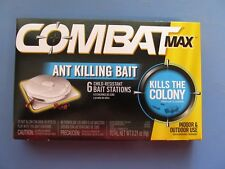 Combat Max Ant killing bait stations Package of 6 Indoor or outdoor use #55901