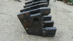 Fiat weights 40kg / front tractor weights/ 4x weights