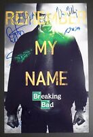 BREAKING BAD Cast (x7) Authentic Hand-Signed 11x17 Photo (Danny Trejo)
