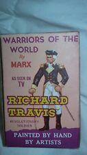 MARX WARRIORS OF THE WORLD RICHARD TRAVIS FIGURE with box