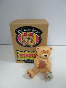 BAD TASTE BEARS - AARON ADULT HUMOR COLLECTIBLE FIGURINE (RDMZ)