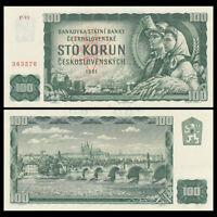 Czechoslovakia 10 Korun, 1961, P-91, Banknote, UNC